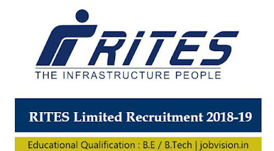 RITES Limited Recruitment 2018
