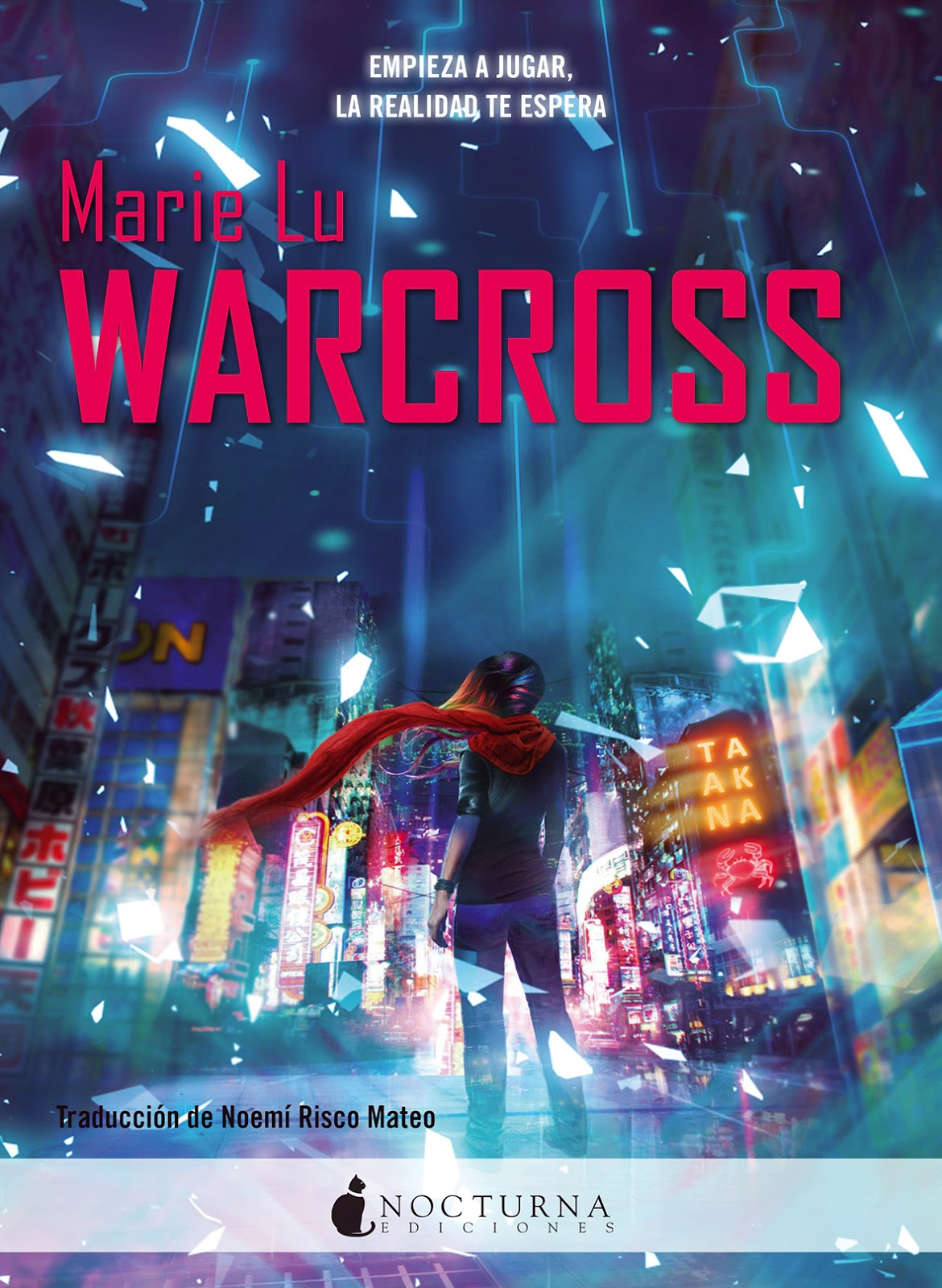 Nocturna Libro Pretty Little Human Reseña Warcross 1 2