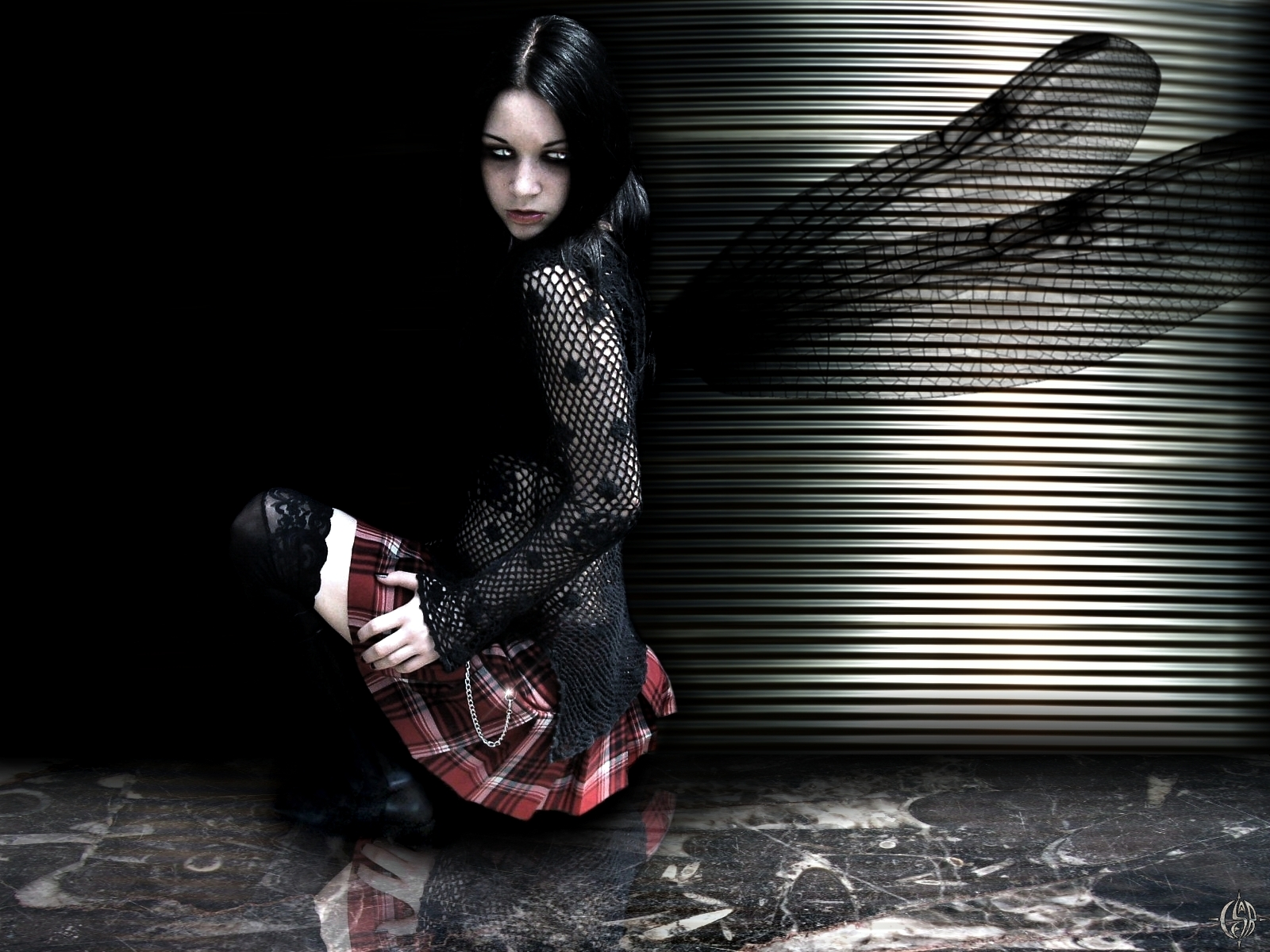 sexy gothic fairy wallpaper - photo #15