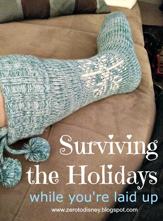 Surviving the Holidays While You're Laid Up