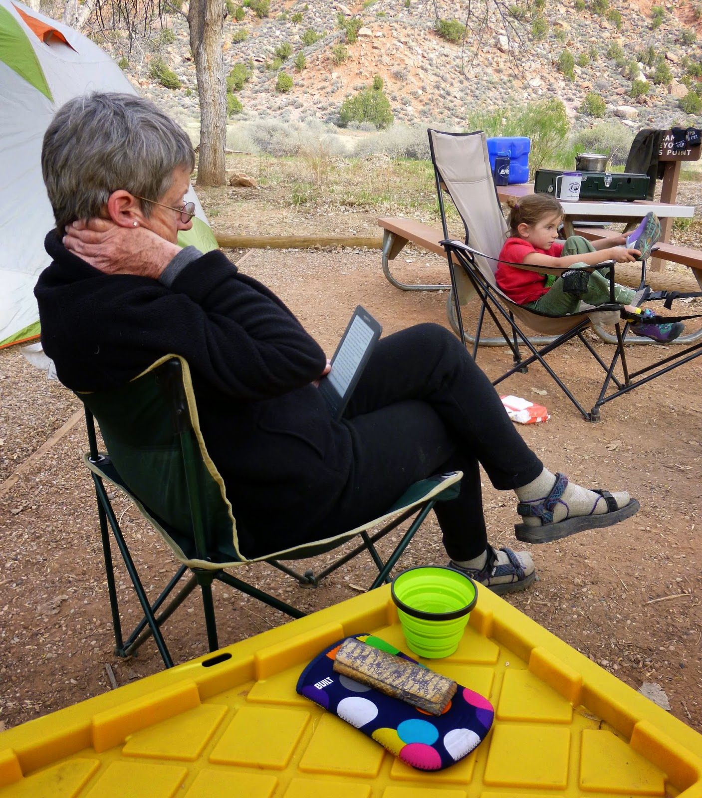 Flora Hiker: Tent camping @ Zion National Park
