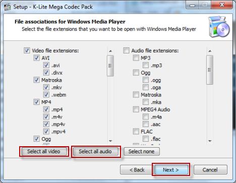 free  k-lite codec pack for windows 7 64 bit