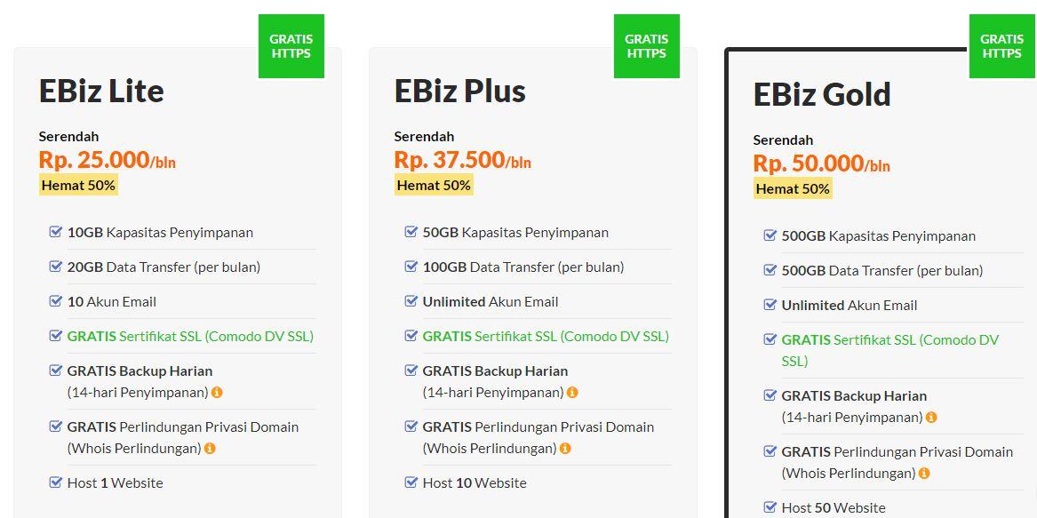 exabytes, hosting yang memiliki fitur add on domain