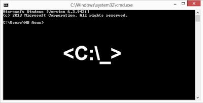 Pengertian Command Prompt atau Cmd.exe
