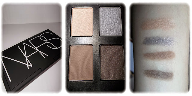 Swatch Palette Yeux et Joues At First Sight Teintes All About Eve, Nouveau Monde, Bellissima, Cordura II - NARS