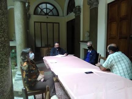 Iglesia Católica y Comisión Científica de la mano para evitar propagación de la COVID-19