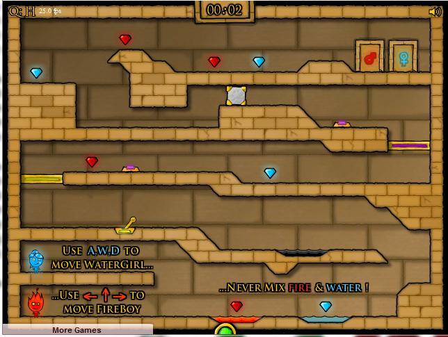 Fireboy Watergirl Play Free Online - Cool Math Games