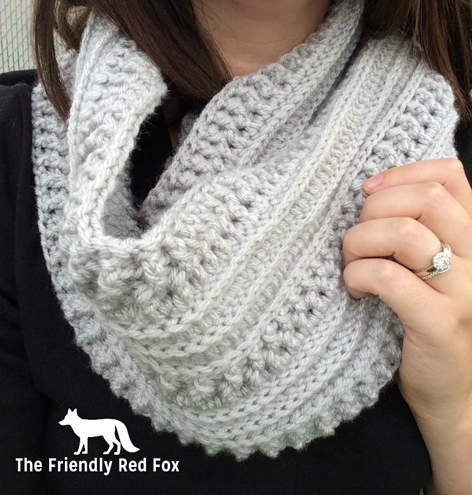 The Ribs and Ridges Scarf Free Crochet Pattern - thefriendlyredfox.com