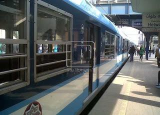 تعطل الحركة 6 دقائق بعد انتحار شاب في مترو غمرة.