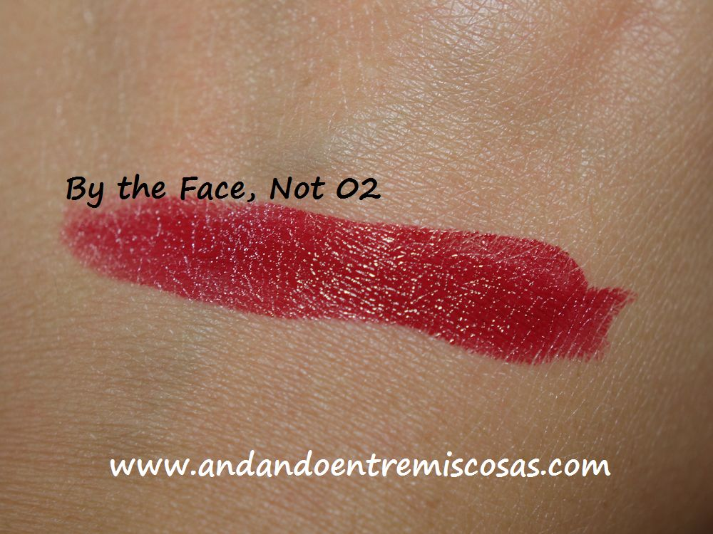 Labial By the Face, Not 02, Swatch