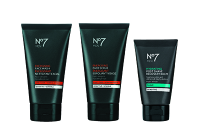 No 7 for MEN is now at Shoppers Drug Mart ~ #Giveaway