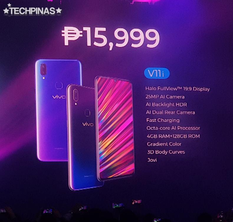Vivo V11i, Vivo V11i Philippines