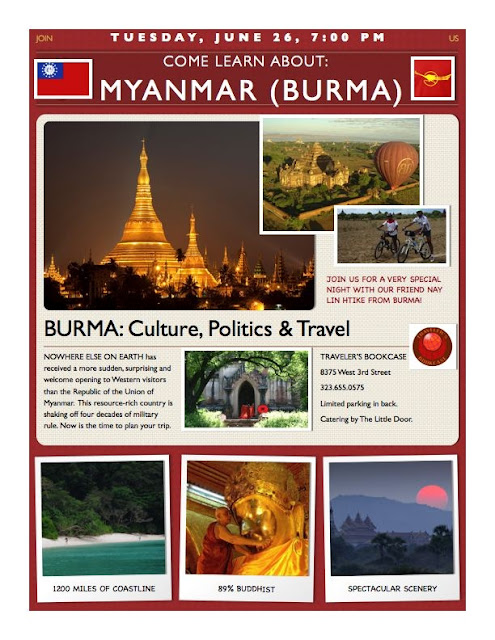 Come Learn About Myanmar (Burma)