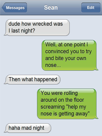 Funny Text Messages: 19 Funny Texts Messages of the Day