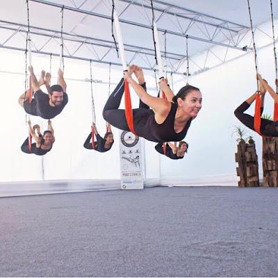 certificación yoga aereo
