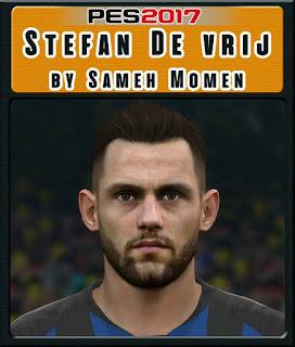 PES 2017 Faces Stefan de Vrij by Sameh Momen