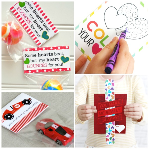 NO-CANDY VALENTINES FOR KIDS- 30+ easy & fun ideas! #nocandyvalentines #valentinesforkids #valentinescrafts