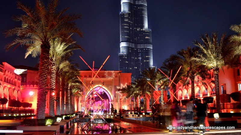 Mikado at Dubai Festival of Lights