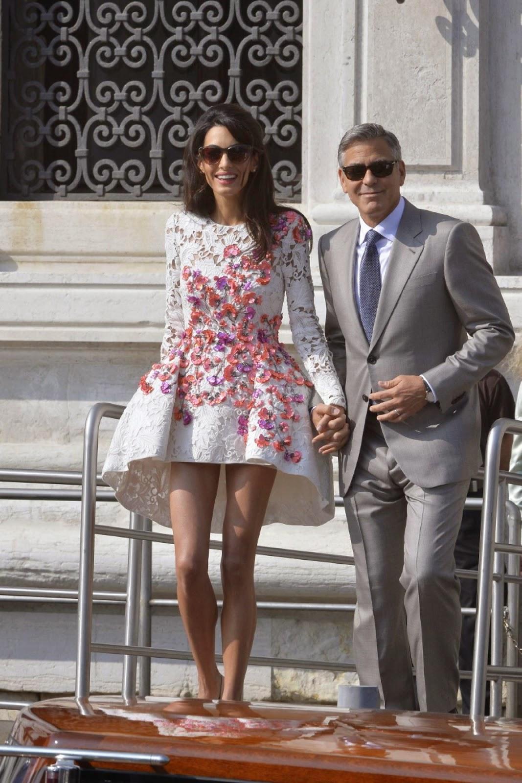 Amal Clooney Wedding Shoes