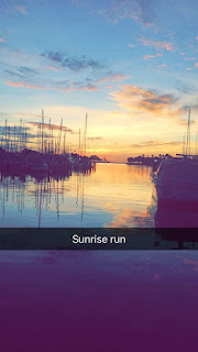 Sunrise running