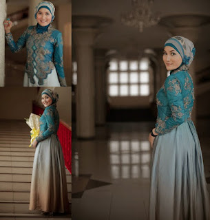 contoh kebaya hijab terbaru