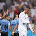 Cavani faz dois, Uruguai vence e elimina Ronaldo da Copa do Mundo