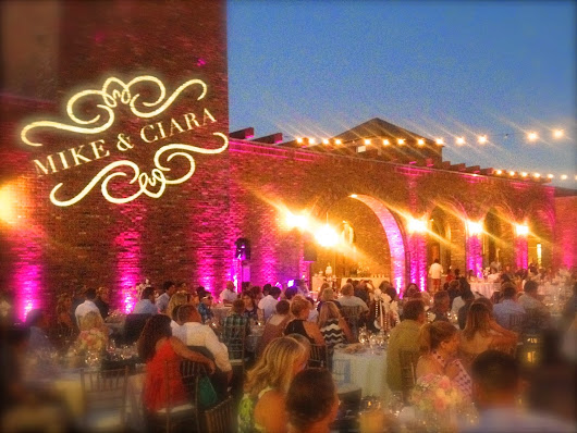 Mike & Ciara at Robert Hall Winery 8.31.14 with DJ Bob