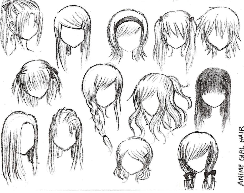 Anime Style Hairstyles  newhairstylesformen2014.com