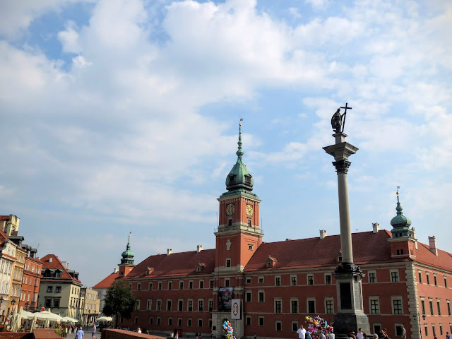Sigismund's Column in Warsaw, Poland
