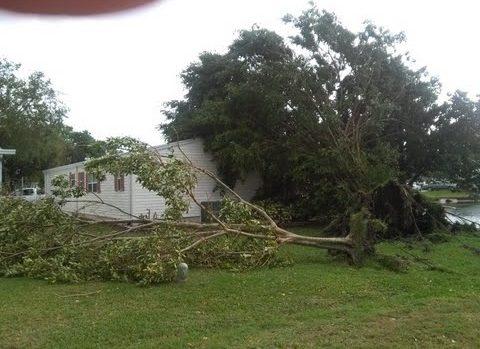 Possible Tornado Touchdown In Cocoa Merritt Island