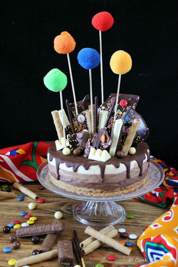three-chocolates-drip-cake, tarta-tres-chocolates