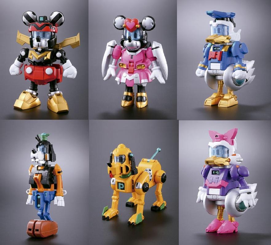 Jedi Mouseketeer: Disney Super Robot Chogokin: Defender Of