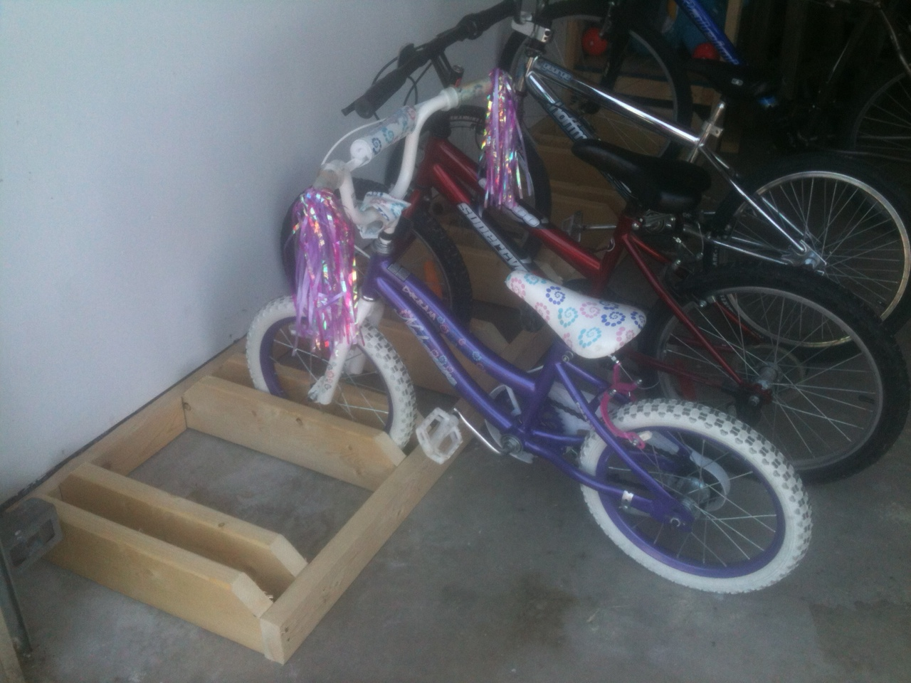 Buy A House Create A Home Diy Bike Rack And Organization