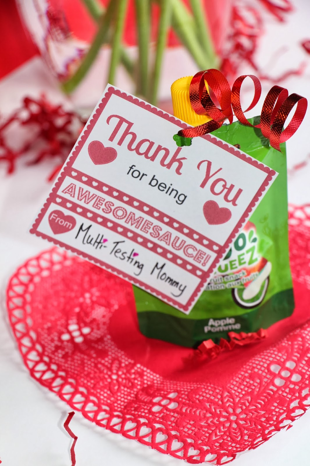 Valentine S Day Free Printable You Re Awesomesauce
