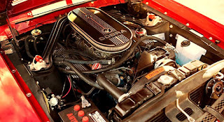 1968 Ford Mustang Shelby GT-500 Fastback Engine