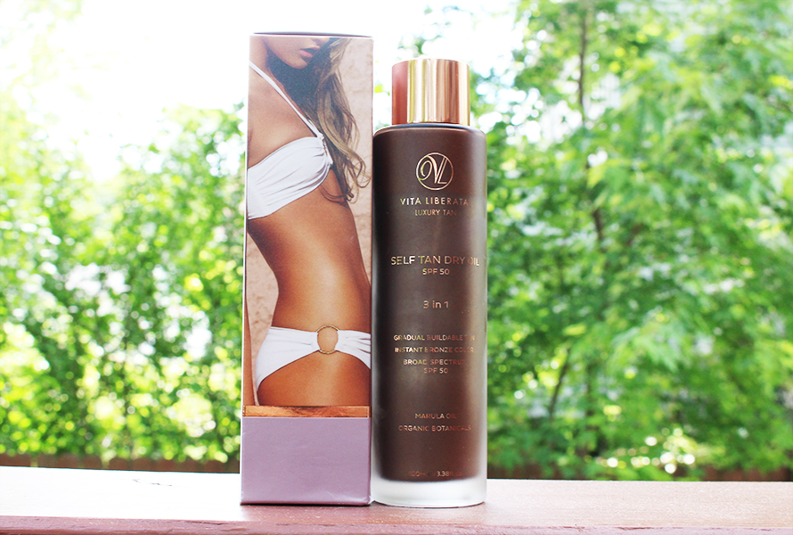 Vita Liberata created a tan that lasts weeks!