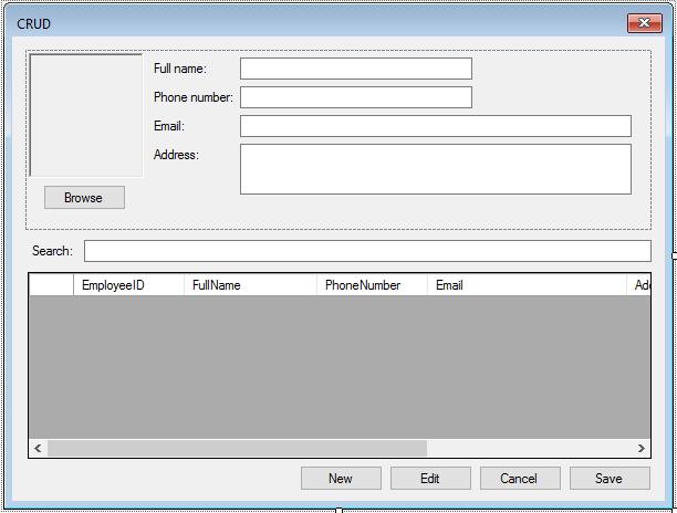 access database c#