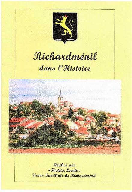 A LIRE : Richardménil dans l'Histoire