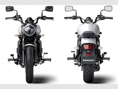 2016 Kawasaki Vulcan S ABS front & rear side