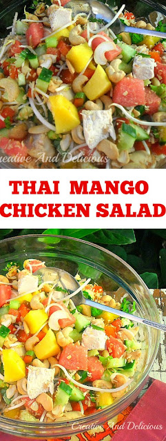 Filling, delicious and refreshing Chicken Salad !