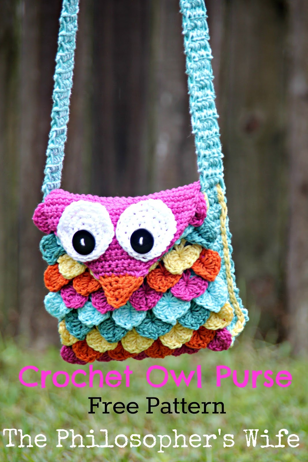 The philosophers wife crochet owl purse free pattern wednesday august 31 2016 bankloansurffo Image collections