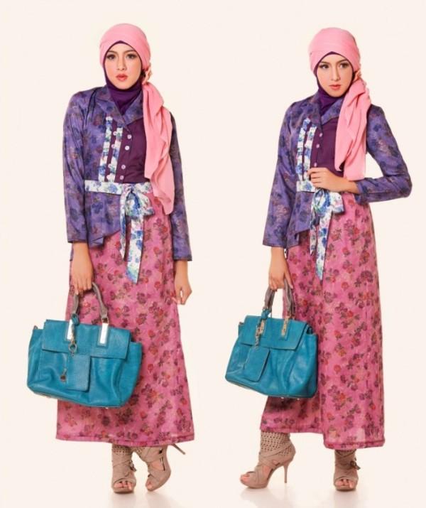 Baju Batik Dian Sastro: 30+ Model Baju Batik Muslim Terbaru 2018