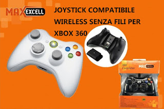 joystick joypad xbox 360 wireless maxexcell