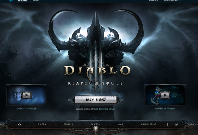 Diablo website
