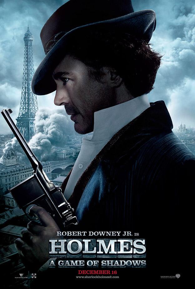 Póster con Robert Downey Jr. de Sherlock Holmes: Juego de Sombras