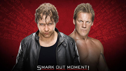 WWE Extreme Rules 2016 Y2J vs Ambrose Asylum Match