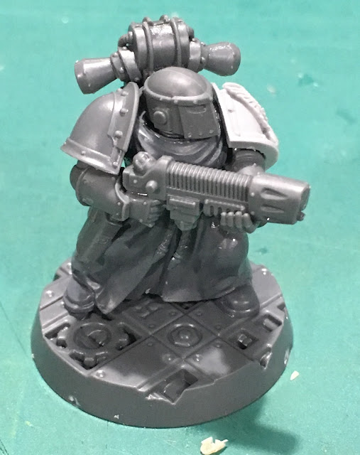 Heretic Astartes Kill Team WIP - The Fallen Sniper
