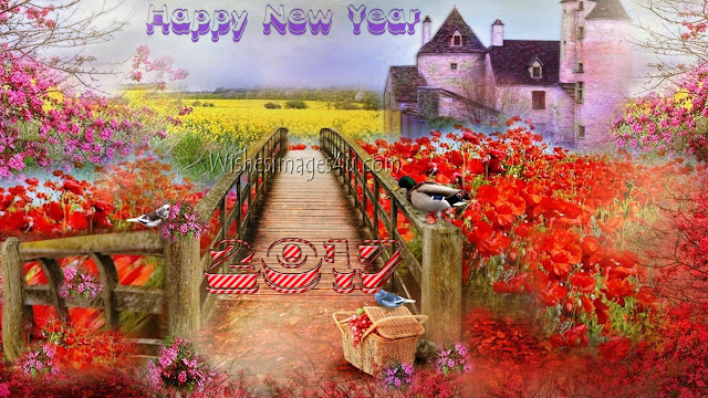 Happy New Year 2017 Beautiful Nature Wallpapers Download Free For Desktop