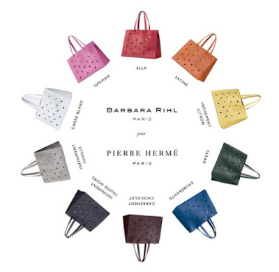 Barbara Rihl x Pierre Herme Limited Edition Bags