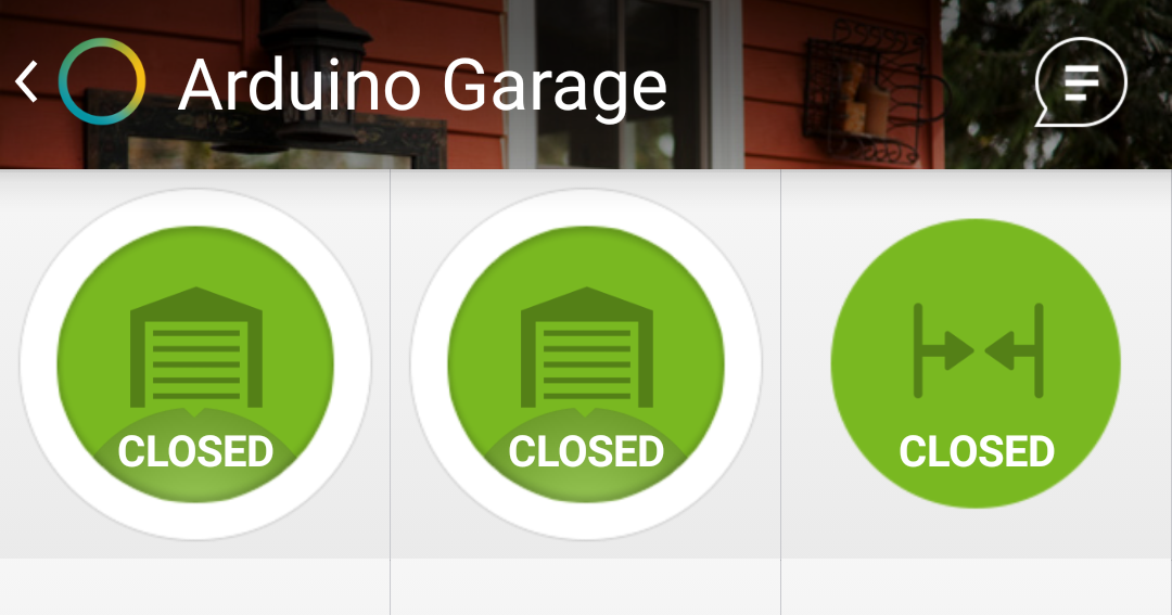 Garage Door Opener Using Arduino Smartthings